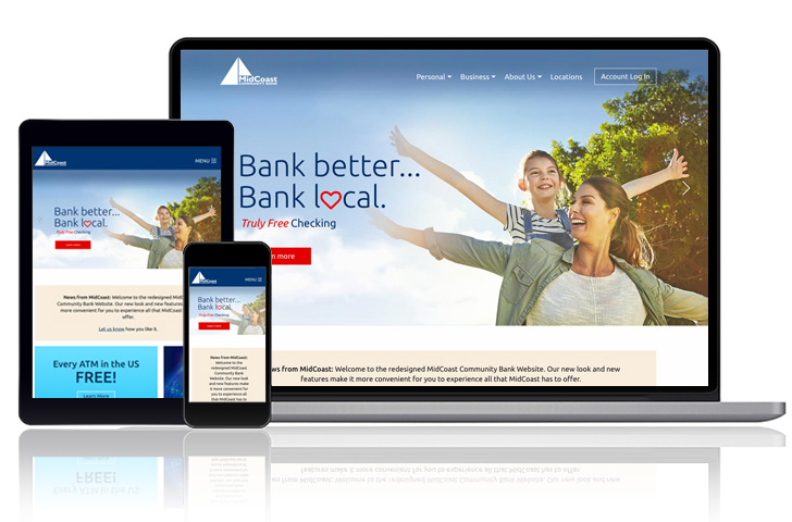MidCoast Community Bank Website